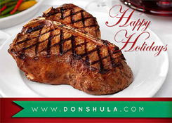Holidays Steak