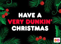 Very Dunkin' Christmas 2018