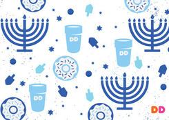 Hanukkah Pattern 2018