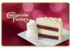 The Cheesecake Factory eGift Cards
