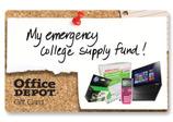 Office Depot eGift Cards from CashStar