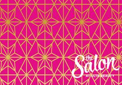 Salon Pink Card