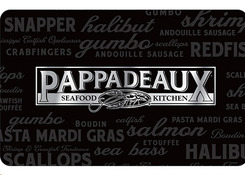 Pappadeaux Seafood Kitchen e-Gift Cards