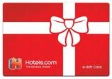 Hotels.com Gift Cards from CashStar