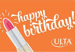 Spring Happy Birthday Lipstick UL55 PL White Confetti UL53